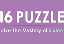 16 Puzzle - Solve The Mystery of Sixteen - Android Game Zone