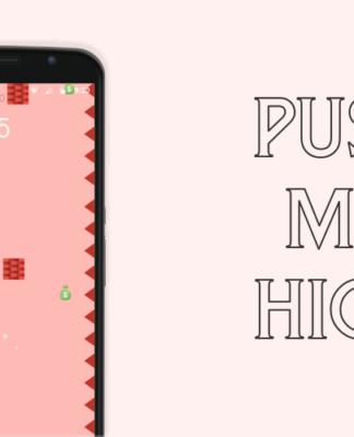 Push Me High - Doraemon Game - Don't Forget to Avoid Bricks.