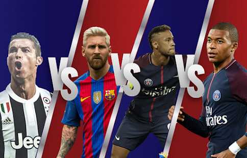 Ronaldo Vs Messi Vs Neymar Vs Mbappe: Football wallpapers