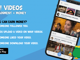 Earn Money By Wah! Videos App – Money Making App