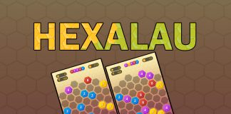 HEXALAU   Simple puzzle game, similar to the legendary 'lines' game, but with a twist.