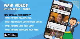 Earn Money By Wah! Videos App – Money Making App